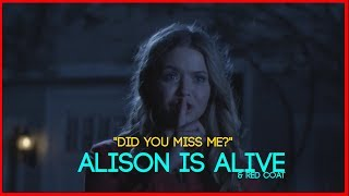 "Pretty Little Liars -Alison is Alive & Red Coat- ""Grave New World"" 4x13 [HALLOWEEN Special]"