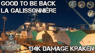 World of Warships - Good to be Back - La Galissonnière