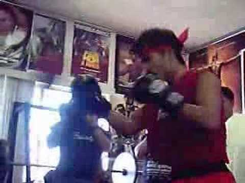 Pacquiao Workout & Interview Before Fight With Velazquez