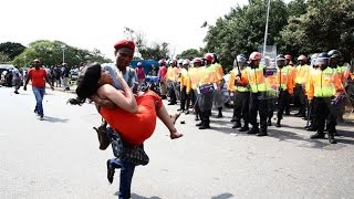 The University of KwaZulu Natal (UKZN) - Violent student protests - 16 students arrested!!