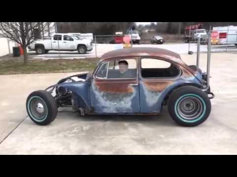 VW Rat Rod Maiden Voyage - YouTube
