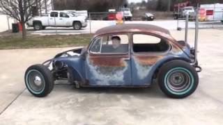 VW Rat Rod Maiden Voyage