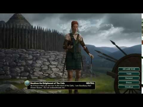 Civ 5 Gameplay 1984 -2008 Pachacuti Inca Empire