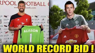 The TRANSFER NEWS Show 2018 ft. Alisson to Liverpool | Perisic to Man Utd | Courtois to Real Madrid