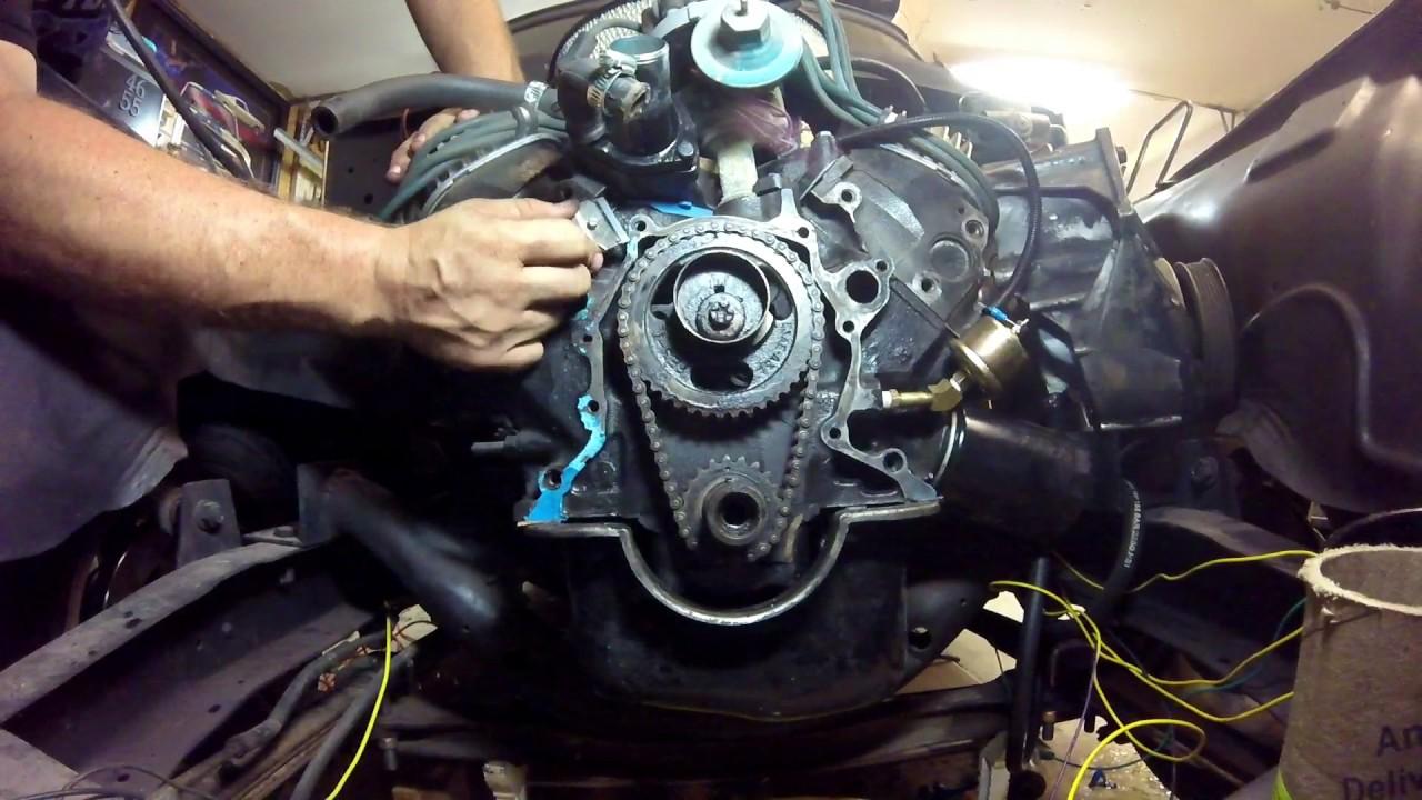 Ford 302 timing cover teardown