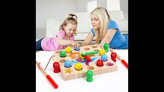 Магнитная рыбалка Детская развивающая игрушка