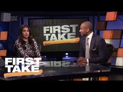 NBA champion Dahntay Jones talks Cavaliers' struggles, Celtics and more   First Take   ESPN