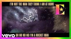 Elton John - Rocket Man (Official Lyric Video)