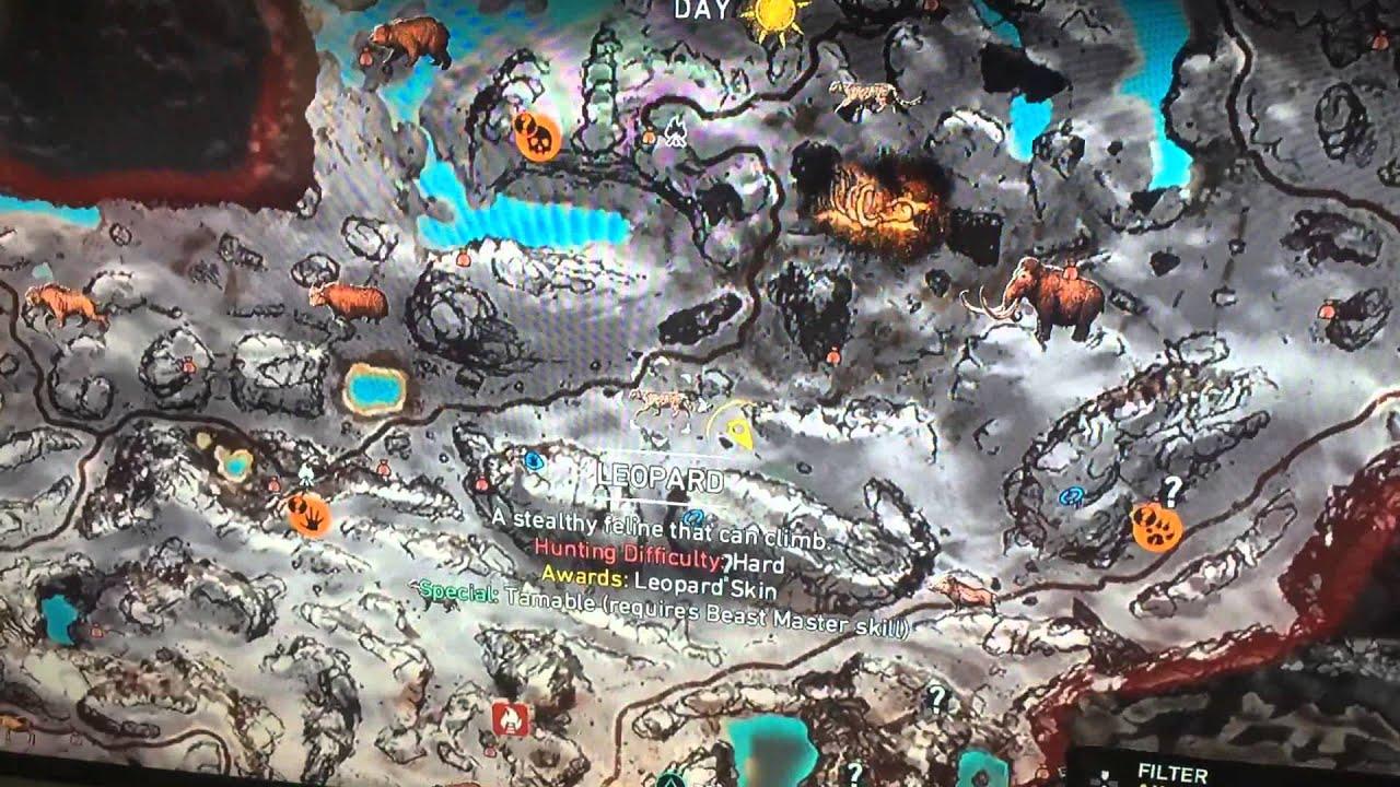 Far cry primal leopard location