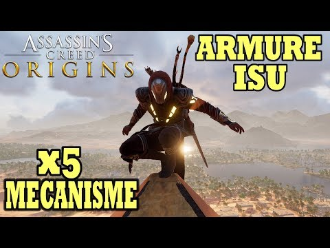 ASSASSIN'S CREED ORIGINS: Armure d'Isu & Mécanisme Anciens