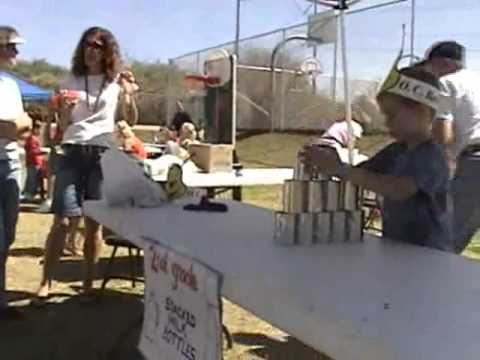 Knock Down The Can Game - Daniel Trudell - Chirst Greenfield Lutheran Church