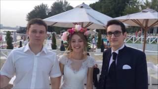 Видео отзыв о выступлении иллюзиониста Дамира Валитова на свадьбе в Роял Баре 30 июля 2016 года