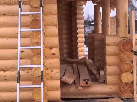 Строительство домов из бревна в Ярославле и Ярославской области
