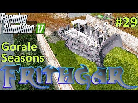 Let's Play Farming Simulator 2017, Gorale With Seasons #29 Liebherr 776 Bulldozer!