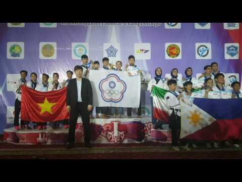 2017哈薩克 亞洲青少年跆拳道錦標賽(自由品勢)