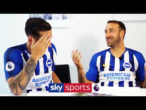 Lewis Dunk vs Glenn Murray | How much do the Brighton boys remember from last season? 🤔