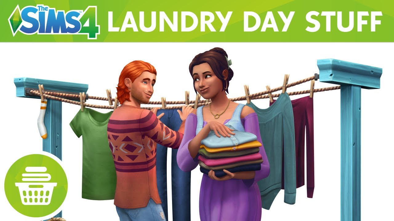 The Sims™ 4 Laundry Day Stuff - Official Site