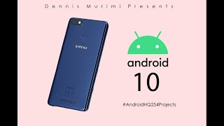 Pixel Experience Android 10 On Infinix NOTE 5 X604