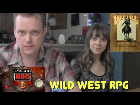 Boot Hill (Wild West RPG) - Rated RPG