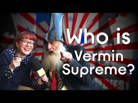 Vermin Supreme: The President We Never Knew We Needed?