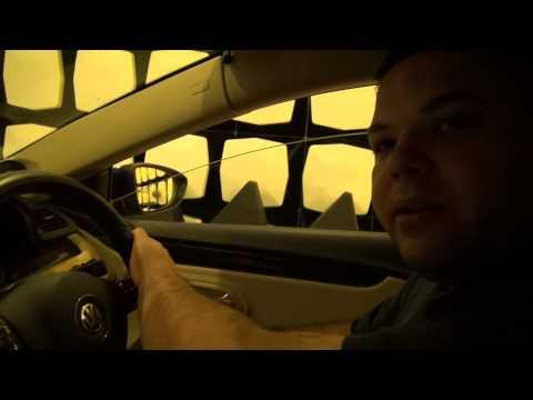 ALPINE VW PASSAT DEMO CAR IN £500,000 RADIO SHIELDED CHAMBER