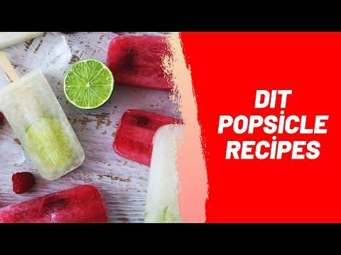 DIT Popsicle Recipes
