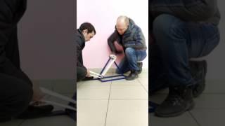 видео Перемотка пожарных рукавов