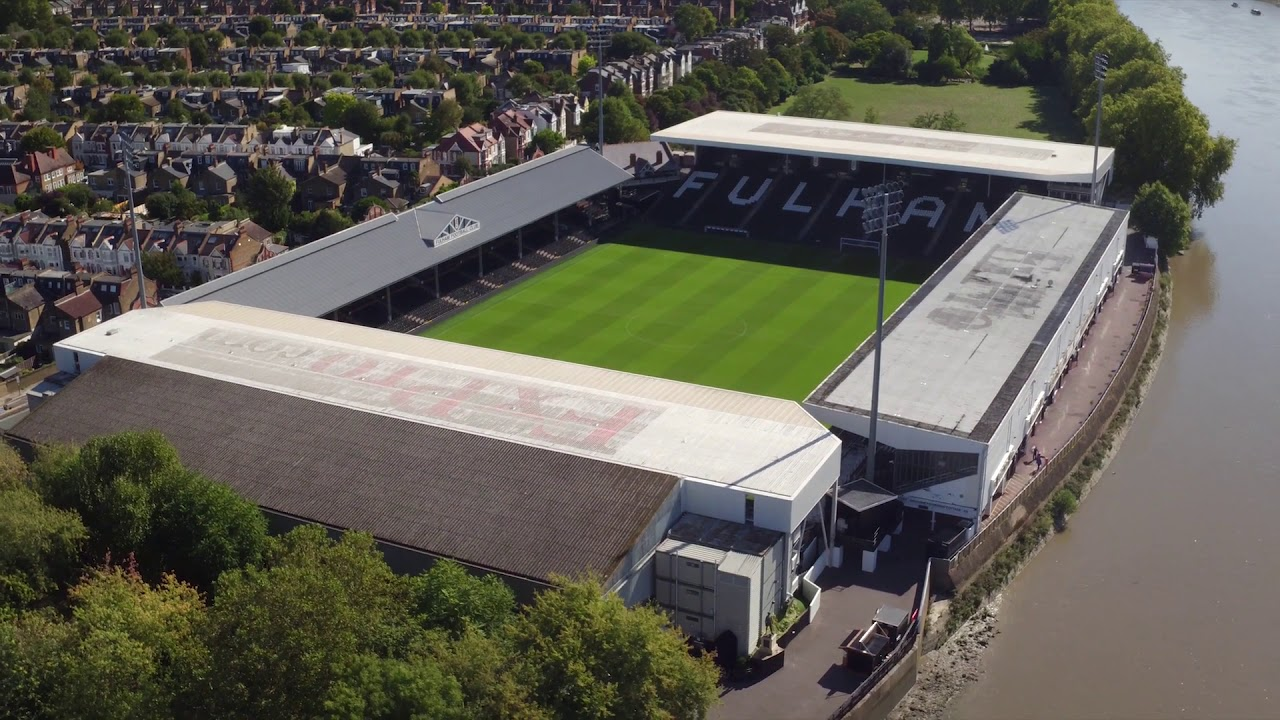 Fulham - Stock Footage Of Craven Cottage - YouTube