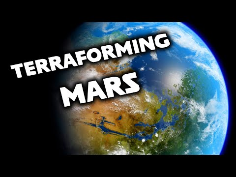 'Realistically' Terraforming Mars in Universe Sandbox 2
