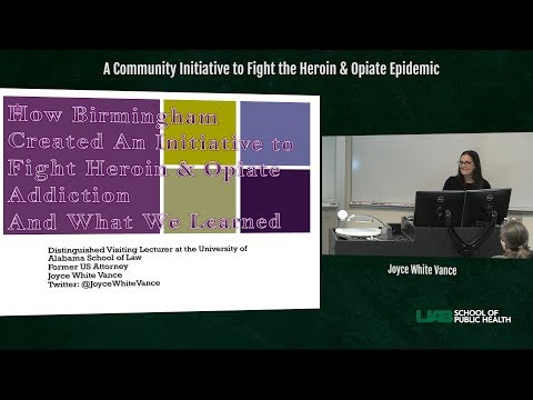 UAB School of Public Health - OPHP - Joyce White Vance