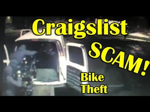 Craigslist Motorcycle Theft SCAM BEWARE - Motorcycle Theft And Resale
