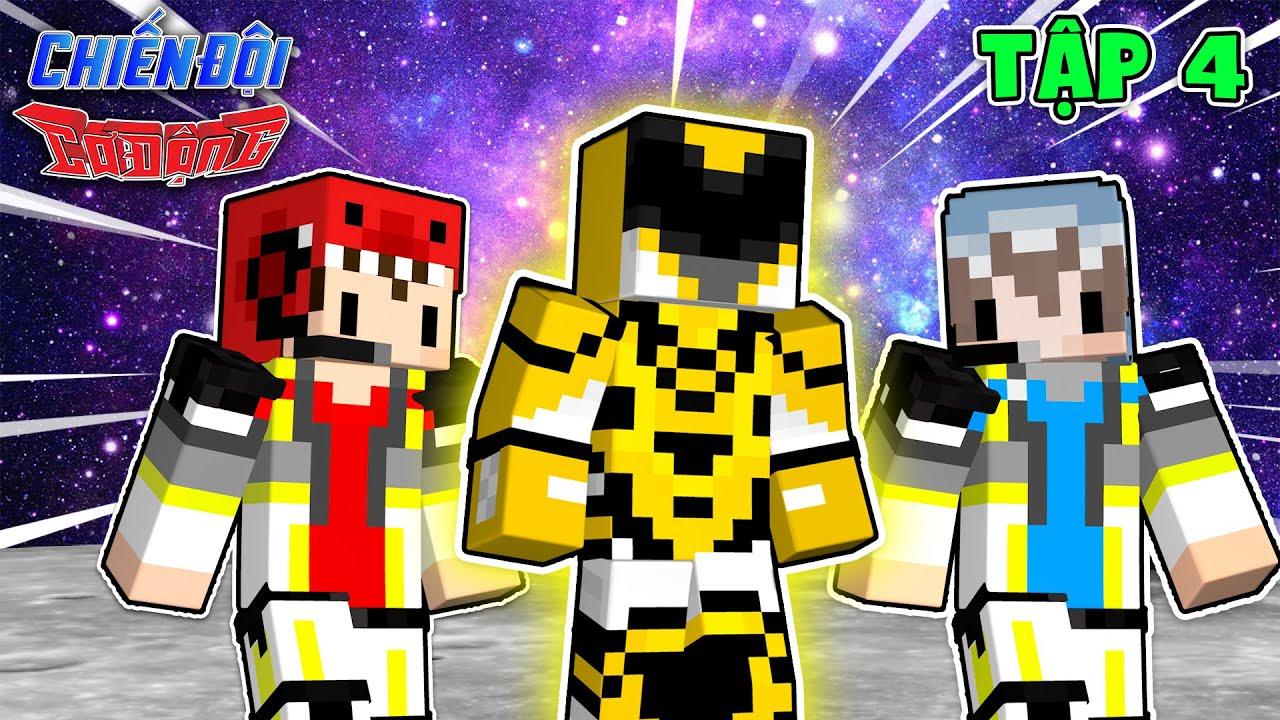 Tập 4 : Người Được Chọn Làm Chiến Binh Vàng Là ? ( Minecraft Chiến Đội Cơ Động )