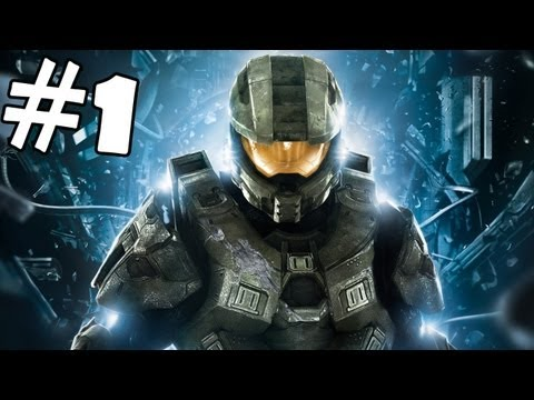 Halo 4 Walkthrough Part 1 Gameplay Review Lets Play Playthrough XBOX 360 [HD]