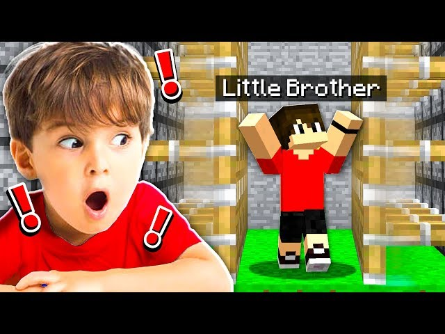 BEST TRAPS TO USE ON YOUR LITTLE BROTHER IN MINECRAFT!