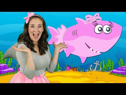 Baby Shark | Kids Songs and Nursery Rhymes | Animal Songs from Bounce Patrol