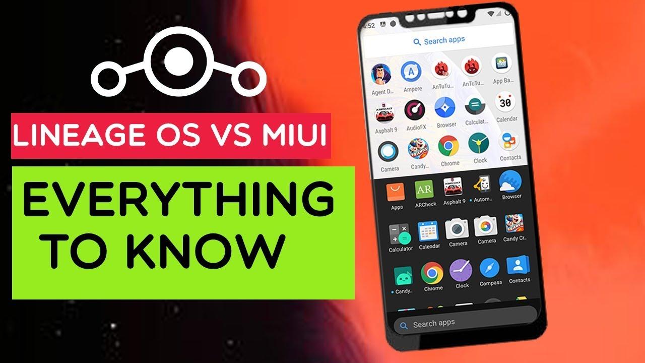 POCO F1 – MIUI 10 vs Lineage OS | Android 9 0 Pie