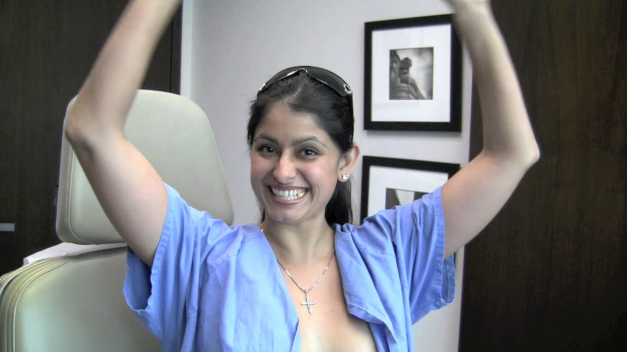 Video Review 24 Hours After Breast Augmentation Surgery - Youtube-4703
