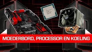 Bouw je eigen game-pc deel 1: Moederbord, processor en koeling