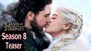 Game of Thrones Season 8 #ForThethrone Teaser Trailer