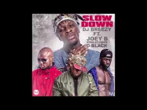 Dj Breezy - Slow Down ft. Joey B, King Promise & D-Black (Audio Slide)