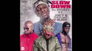 Dj Breezy - Slow Down ft. Joey B, King Promise & D-Black (Audio Slide)
