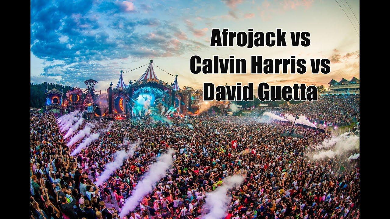 Download Afrojack VS Calvin Harris VS David Guetta - Tomorrowland 2018