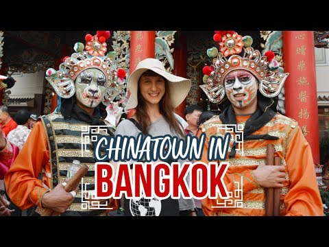 Chinatown in Bangkok, THAILAND - Globe in the Hat #4