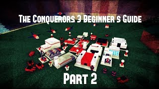 The Conquerors 3 Beginner es Guide: Roblox | Teil 2