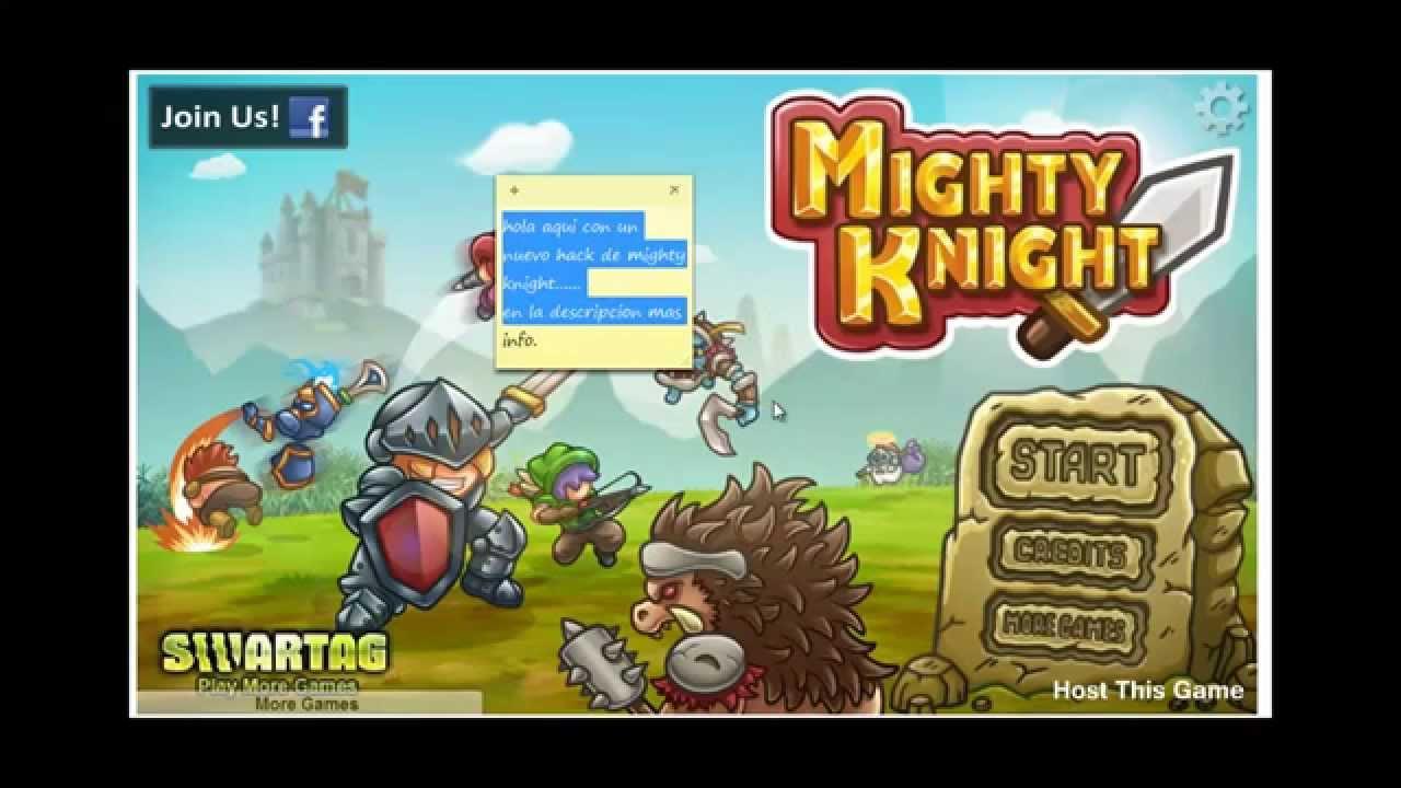 игры могучий рыцарь 1 бесконечные деньги
