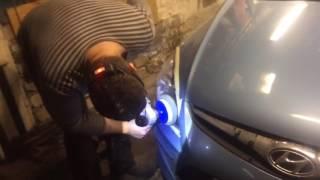 Полировка фар Hyundai i30 смотреть