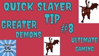 OSRS-greater demons Catacombs of Kourend slayer tip #8