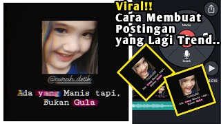 Download Mp3 Terbaru🔥cara Membuat Video Quotes Kekinian Buat Story Wa Dan Instagram | Kine Ma