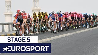 UAE Tour 2019 | Stage 5 Highlights | Cycling | Eurosport