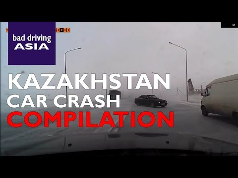 Kazakhstan Car Crash Compilation